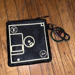 Louis Vuitton limited ed fragment floppy disk